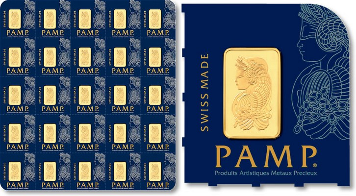 Gold 25 g PAMP MultiGram