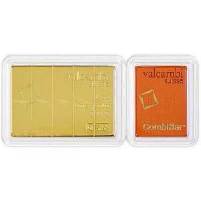 Gold 1 oz Valcambi CombiBar