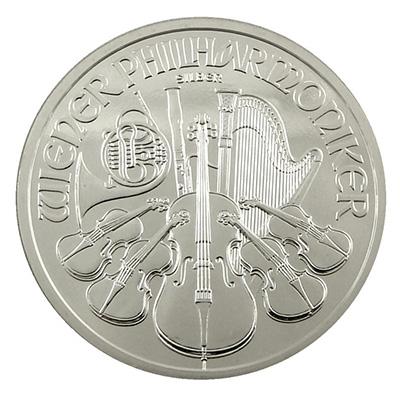 Silver Austrian Philharmonic (1 oz) Coin