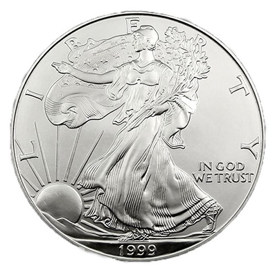 Silver American Eagle (1 oz) Coin