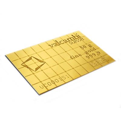 Gold 50 g Valcambi CombiBar
