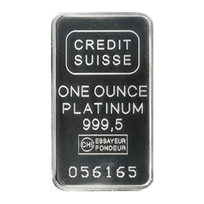 Platinum 1 oz Bar