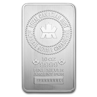 Silver 10 oz RCM Bar