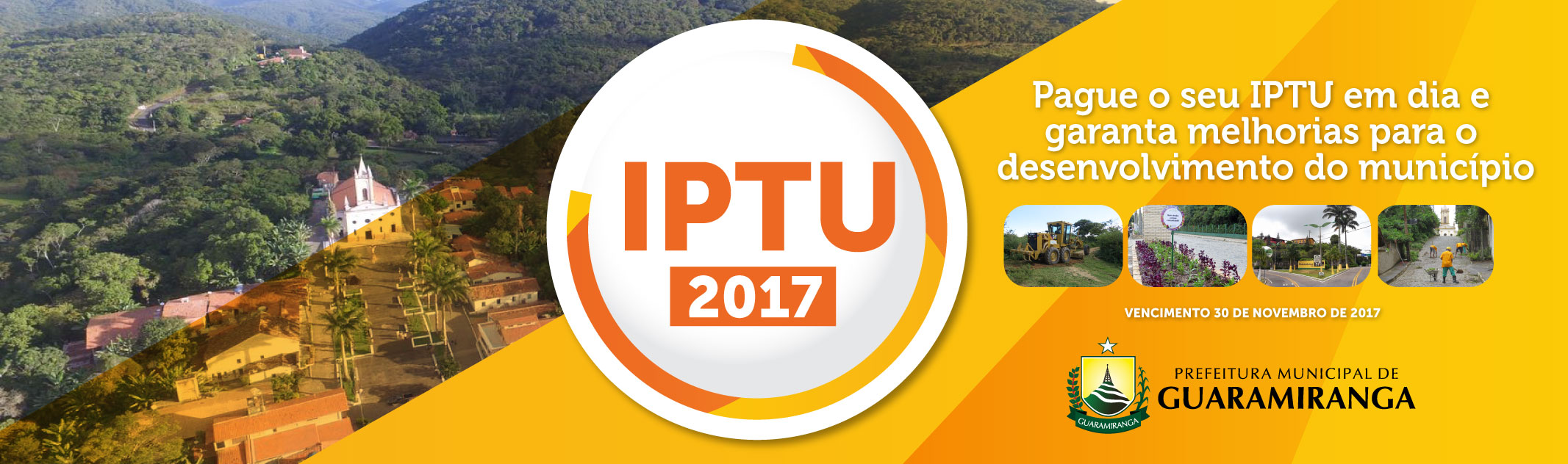 ÚLTIMA SEMANA: IPTU 2017