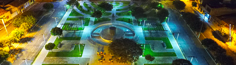 Vista Aérea da Praça da Matriz