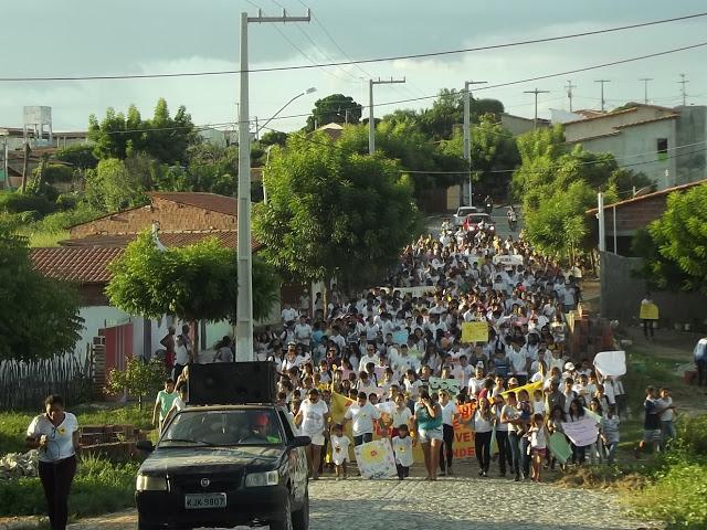 CAMPO GRANDE FEZ BONITO: CAMINHADA DO