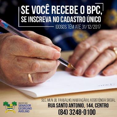 Atenção no Prazo do BPC
