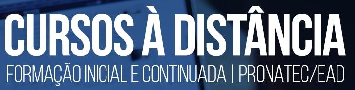 CUROS PRONATEC/EAD