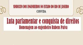 SENGE-RJ prepara novas homenagens a Rubens Paiva