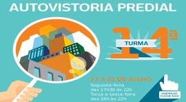 14ª turma de Autovistoria predial