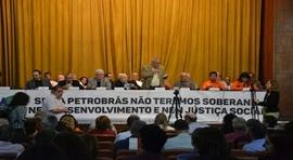 Lançada no Rio a Frente em Defesa da Petrobras e da Soberania Nacional