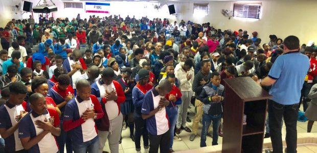 Evento também ocorreu em Porto Elizabeth