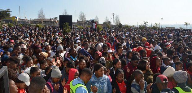 Mais de 23 mil jovens participaram em 20 locais simultaneamente