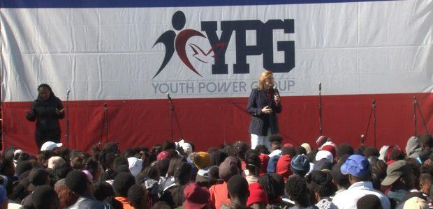 """Objetivo principal foi motivar e ensinar aos jovens que eles podem dizer """"não"""" a todo o tipo de opressão"""