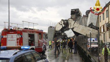 Universal da Itália abre canal de comunicação para auxiliar vítimas do acidente da Ponte Morandi, em Gênova