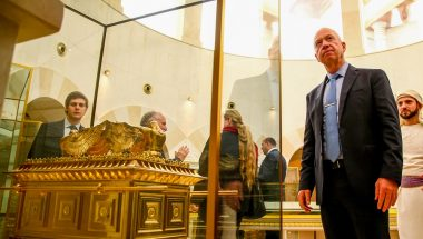 Templo de Salomão é visitado por Ministro da Construção de Israel