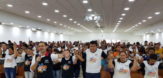 """El Salvador - """"Saiba Dizer Não"""": combate à violência na juventude"""