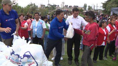 Programa social da Universal doa mais de 200 toneladas de alimentos no México