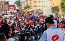 Ajuda de voluntários à comunidade carente no extremo sul de São Paulo