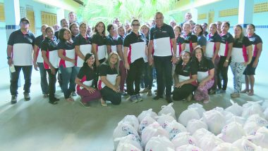 Auxílio a centenas de pessoas no Rio Grande do Norte