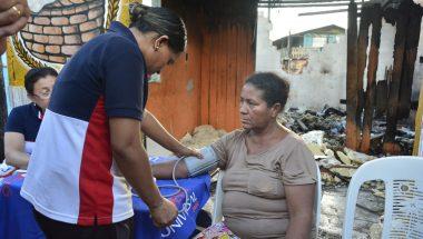 Solidariedade ampara vítimas de incêndio em Belém do Pará