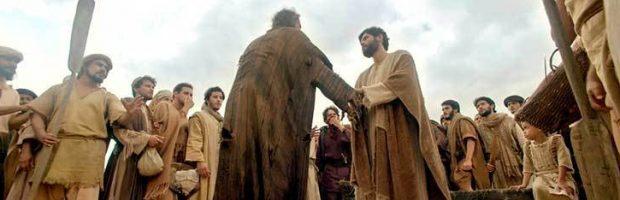 Leproso é curado por Jesus