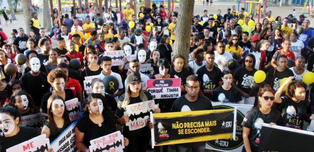 No Rio de Janeiro, milhares de pessoas se reuniram