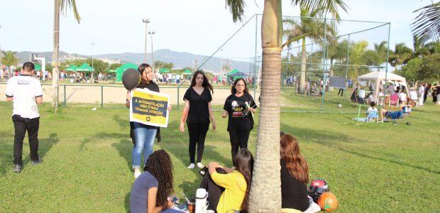 Em Santa Catarina, voluntários abordaram pessoas