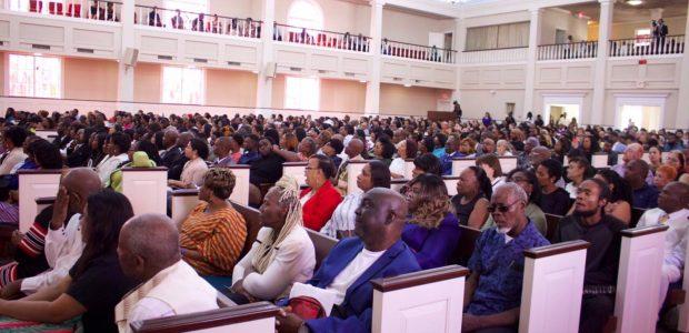 A reunião no Texas foi realizada na Catedral da fé, em Houston
