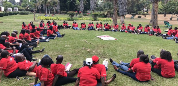 Caminhada do Amor em Zimbabwe (país africano)