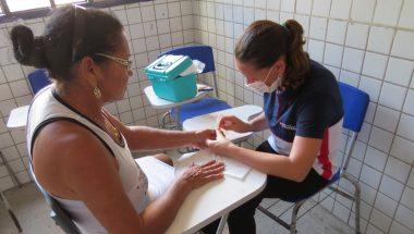 Ação social beneficia centenas de pessoas em Parnamirim, no Rio Grande do Norte