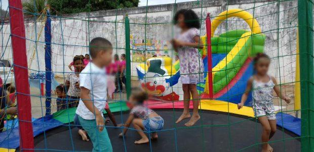 Ação social no Dia das Crianças: Conjunto Penal de Jequié, Bahia