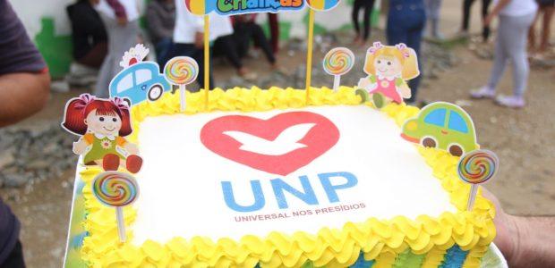 Ação social no Dia das Crianças: Presídio São Pedro de Alcântara, em Santa Catarina