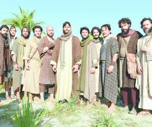 Os 12 apóstolos escolhidos por Jesus