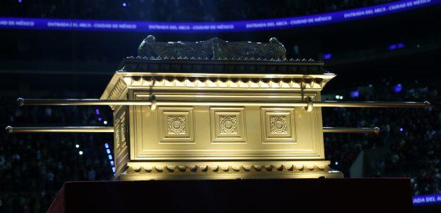 A arca é um símbolo da presença de Deus entre o Seu povo