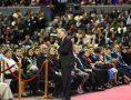 A cerimônia especial foi ministrada pelo Bispo Edir Macedo e pelo Bispo Djalma Bezerra
