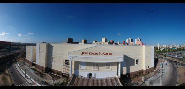 Catedral de Sergipe: visão panorâmica do novo templo