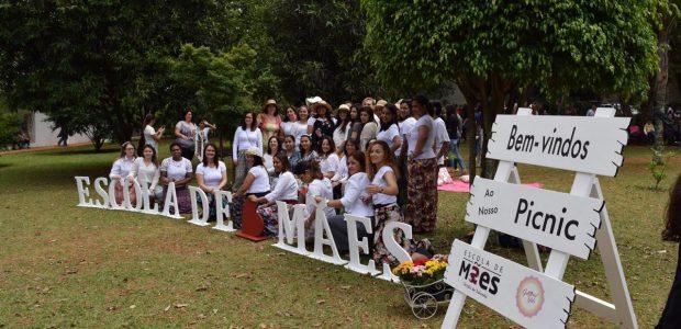 No dia 3 de novembro último, aconteceu um piquenique da Escola de Mães