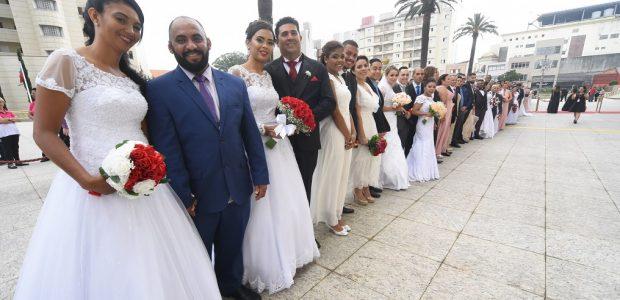 A Universal uniu mais de 23 mil pessoas em matrimônio