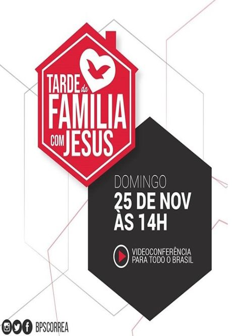 Tarde da Família com Jesus
