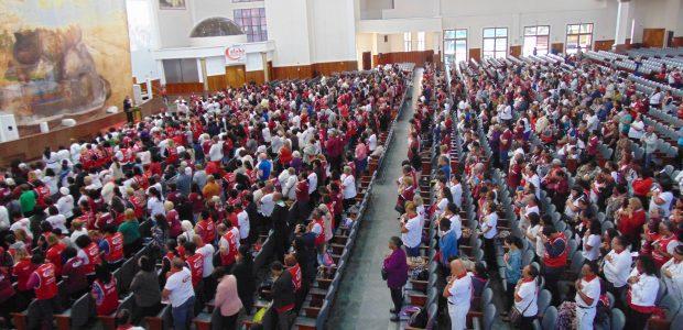 Na capital de São Paulo a celebração aconteceu na catedral do Brás