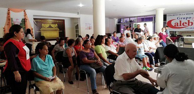 Serviços de saúde também foram oferecidos em outros países / Nicarágua