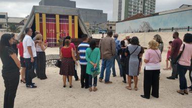 Templo de Salomão: Tour no Jardim Bíblico reúne diretores e funcionários de presídios