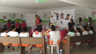 Voluntários da UNP e EBI promovem doações para mães reclusas em presídio do Ceará