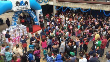 A Gente da Comunidade realiza ação social na Brasilândia