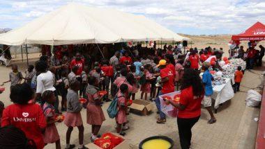 Iniciativa da Universal garante que 3,5 mil crianças africanas possam estudar