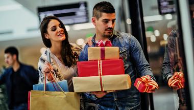 Os exageros ao fazer  as compras natalinas