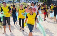 """""""Praia Limpa"""" leva conscientização ambiental para banhistas da Paraíba"""
