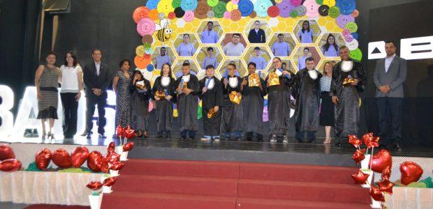 Em 2018, cerca de 18 alunas participaram da formatura