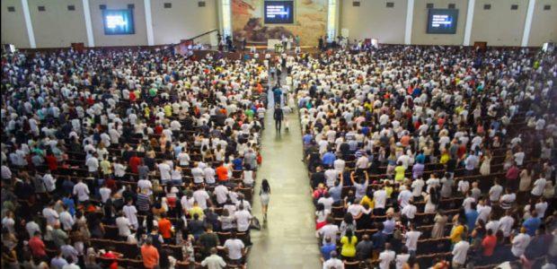 Vigília da Virada com o Fogo Abrasador na João Dias, Santo Amaro, zona sul de São Paulo